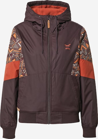 Iriedaily Between-season jacket 'Blotchy' in Brown