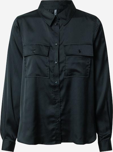 Bluză 'DAYTON' PIECES pe negru, Vizualizare produs