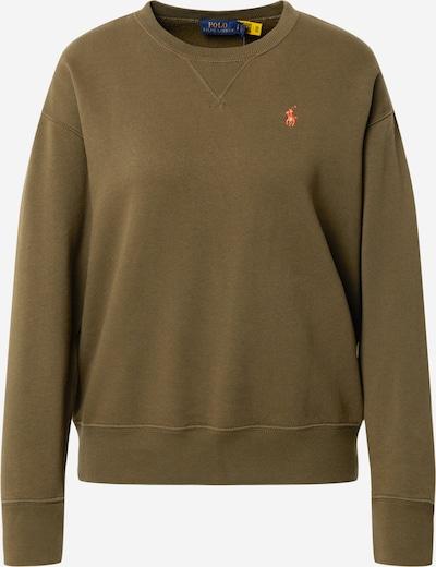POLO RALPH LAUREN Sweat-shirt en olive, Vue avec produit