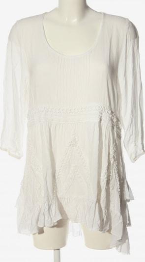 lykkelig Langarm-Bluse in XL in weiß, Produktansicht