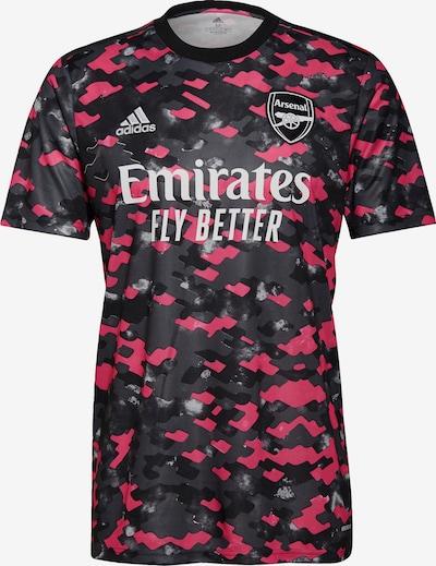ADIDAS PERFORMANCE Trikot 'FC Arsenal' in anthrazit / hellgrau / dunkelgrau / hellpink / weiß, Produktansicht