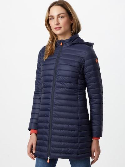 SAVE THE DUCK Between-seasons coat 'BRYANNA' in Navy, View model