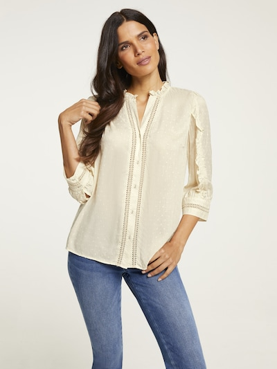heine Blouse in Sand, View model