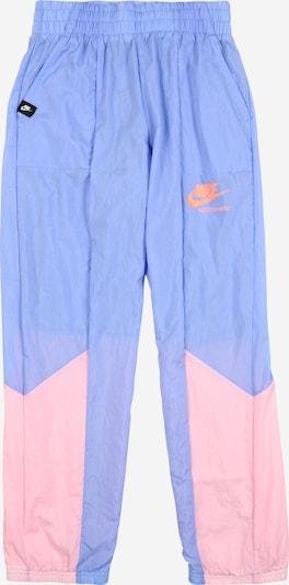 Nike Sportswear Broek 'Heritage' in de kleur Lichtblauw / Rosa, Productweergave