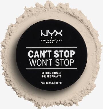 NYX Professional Makeup Powder 't Stop Won' in Brown