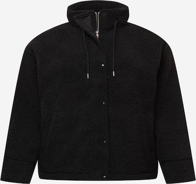 PIECES Curve Flis jakna 'CAMINO' u crna, Pregled proizvoda