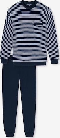 SCHIESSERDuga pidžama - plava boja