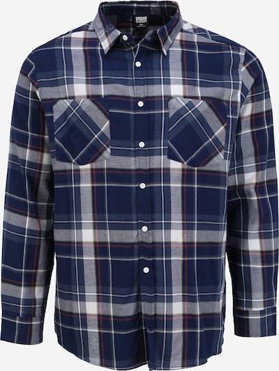 Urban Classics Košeľa - modrá / červená / biela, Produkt