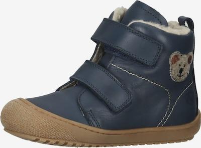NATURINO Sneaker in blau / braun / grau, Produktansicht