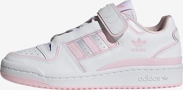 Sneaker bassa 'FORUM PLUS W' di ADIDAS ORIGINALS in bianco