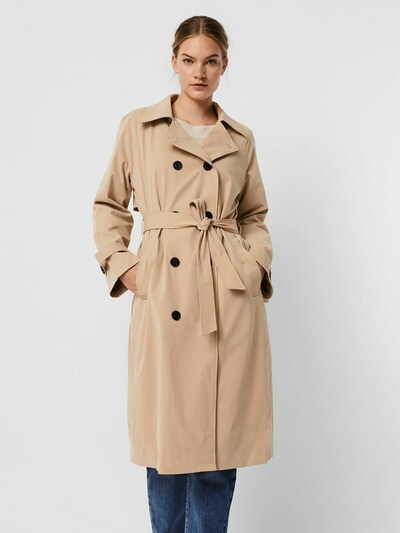 VERO MODA Trenchcoat in beige, Modelansicht