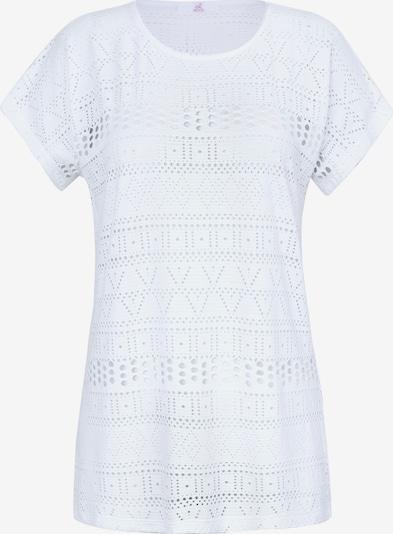 Emilia Lay Shirt in de kleur Wit: Vooraanzicht