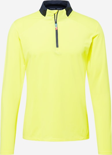 Rukka Sportshirt 'MURTOLA' in neongrün / schwarz, Produktansicht