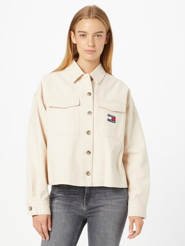 Chemisier Tommy Jeans en beige