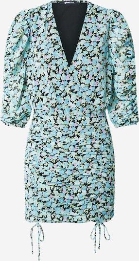 Gina Tricot Dress 'Michelle' in Light blue / Light green / Mauve / Black, Item view