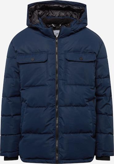 Jack & Jones Plus Winterjas 'RONALD' in de kleur Donkerblauw, Productweergave