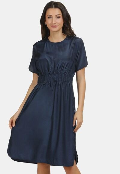 usha BLACK LABEL Jurk in de kleur Nachtblauw: Vooraanzicht
