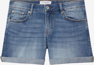 VIOLETA by Mango Jeans 'Vicky' in de kleur Blauw denim, Productweergave