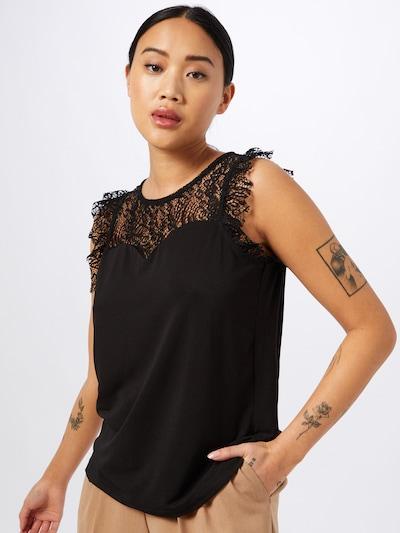 VERO MODA Bluse 'Alberta' i sort, Modelvisning
