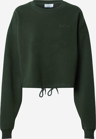 LeGer by Lena Gercke Sweatshirt 'Rosa' in Green