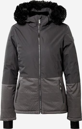KILLTEC Skijacke 'Kirstin' in grau / schwarz, Produktansicht