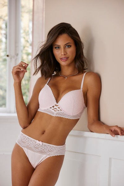 LASCANA Push-up-BH in rosa, Produktansicht