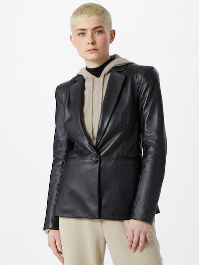 2NDDAY Prehodna jakna 'Miler' | črna barva, Prikaz modela