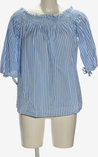 Zanzea Carmen-Bluse in M in blau / weiß, Produktansicht