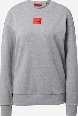 HUGO Sweatshirt 'Nakira' in Grey