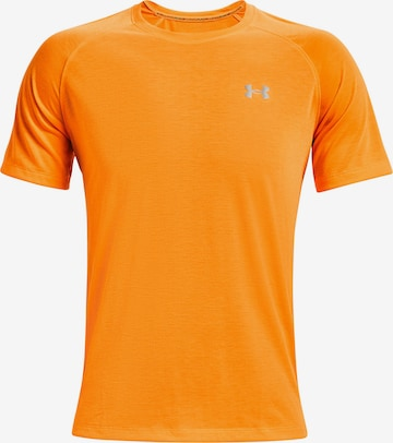 oranžs UNDER ARMOUR Sporta krekls 'Streaker'