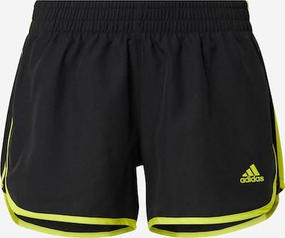 ADIDAS PERFORMANCE Športne hlače | rumena / črna barva, Prikaz izdelka
