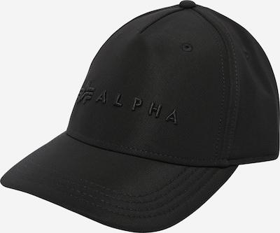 ALPHA INDUSTRIES Čiapka - čierna, Produkt