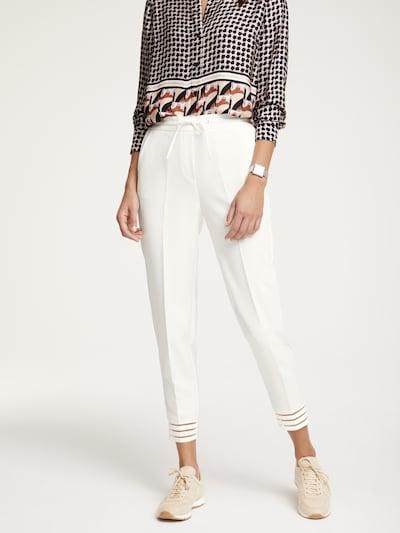 Kelnės iš heine , spalva - balta, Modelio vaizdas