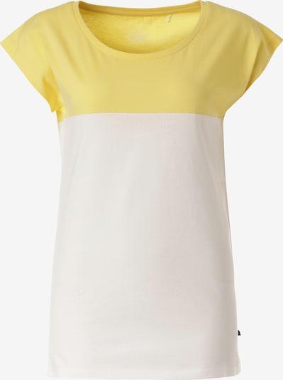 Lakeville Mountain T-Shirt 'Kapatu' in gelb / weiß, Produktansicht