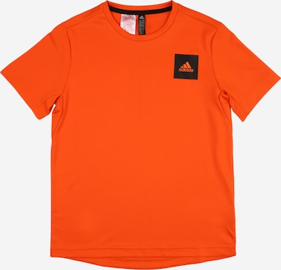 ADIDAS PERFORMANCE T-Shirt in orange / schwarz, Produktansicht