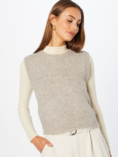 Soft Rebels Pullover 'Stinne' in grau, Modelansicht