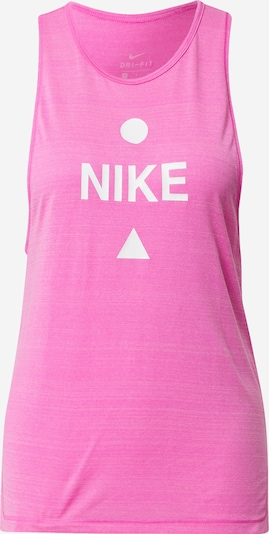 NIKE Sportovní top - pink / bílá, Produkt