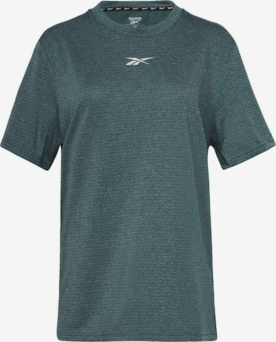 Reebok Sport Shirt in grün / petrol, Produktansicht