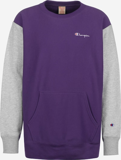 Champion Authentic Athletic Apparel Sweater ' Crewneck ' in dunkellila, Produktansicht