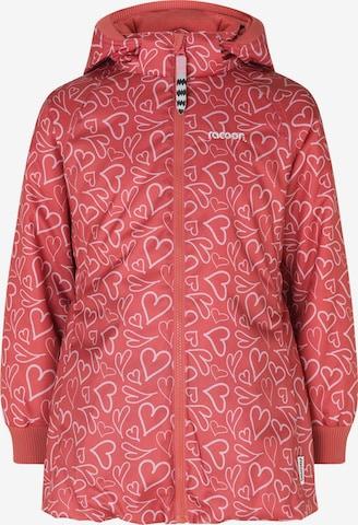 Racoon Outdoor Winter Jacket 'Bea' in Pink