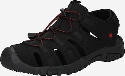HI-TEC Sandalen 'COVE SPORT' in de kleur Rood / Zwart, Productweergave