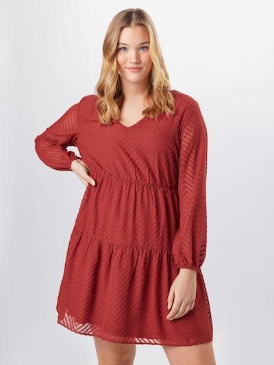 ABOUT YOU Curvy Šaty 'Lia' - hrdzavo červená, Model/-ka