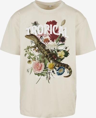 MT Men Shirt in beige / grün / weiß, Produktansicht