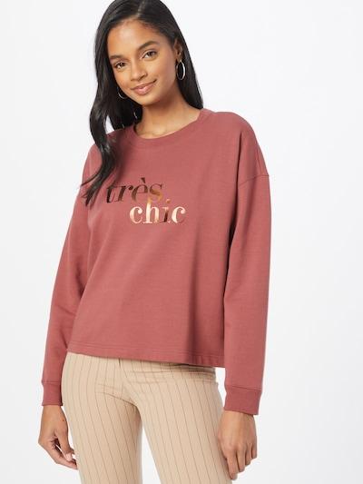 ABOUT YOU Sweatshirt 'Samira' in altrosa: Frontalansicht