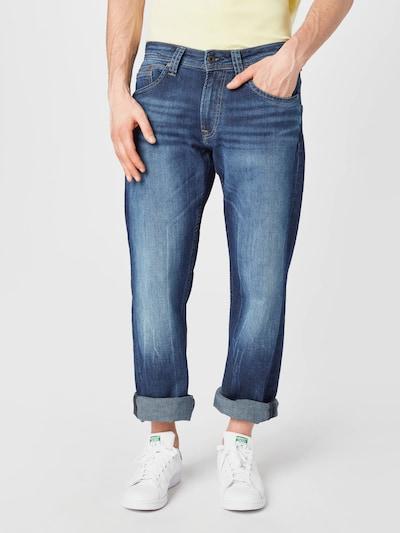 Pepe Jeans Jeansy 'NEW JEANIUS' w kolorze ciemny niebieskim, Podgląd na modelu(-ce)