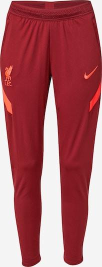 NIKE Sportbyxa 'Liverpool FC Strike' i orange / röd, Produktvy