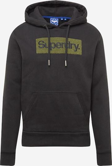 Superdry Sveter - zelená / čierna, Produkt