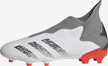 Chaussure de sport 'Predator Freak.3 Laceless' ADIDAS PERFORMANCE en blanc