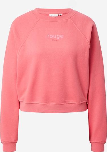 ONLY Sweatshirt 'BELLA LIFE' in hellpink, Produktansicht