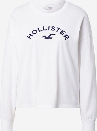 HOLLISTER Shirt in dunkelblau / offwhite, Produktansicht